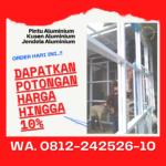 Cantik..!! Pintu Aluminium Kaca Bekas Bandung WA.0812-242526-10
