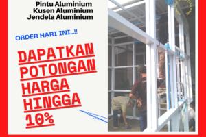 Harga Pintu Lipat Aluminium WA.0822-14146314